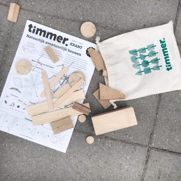 timmerhout voor kinderen