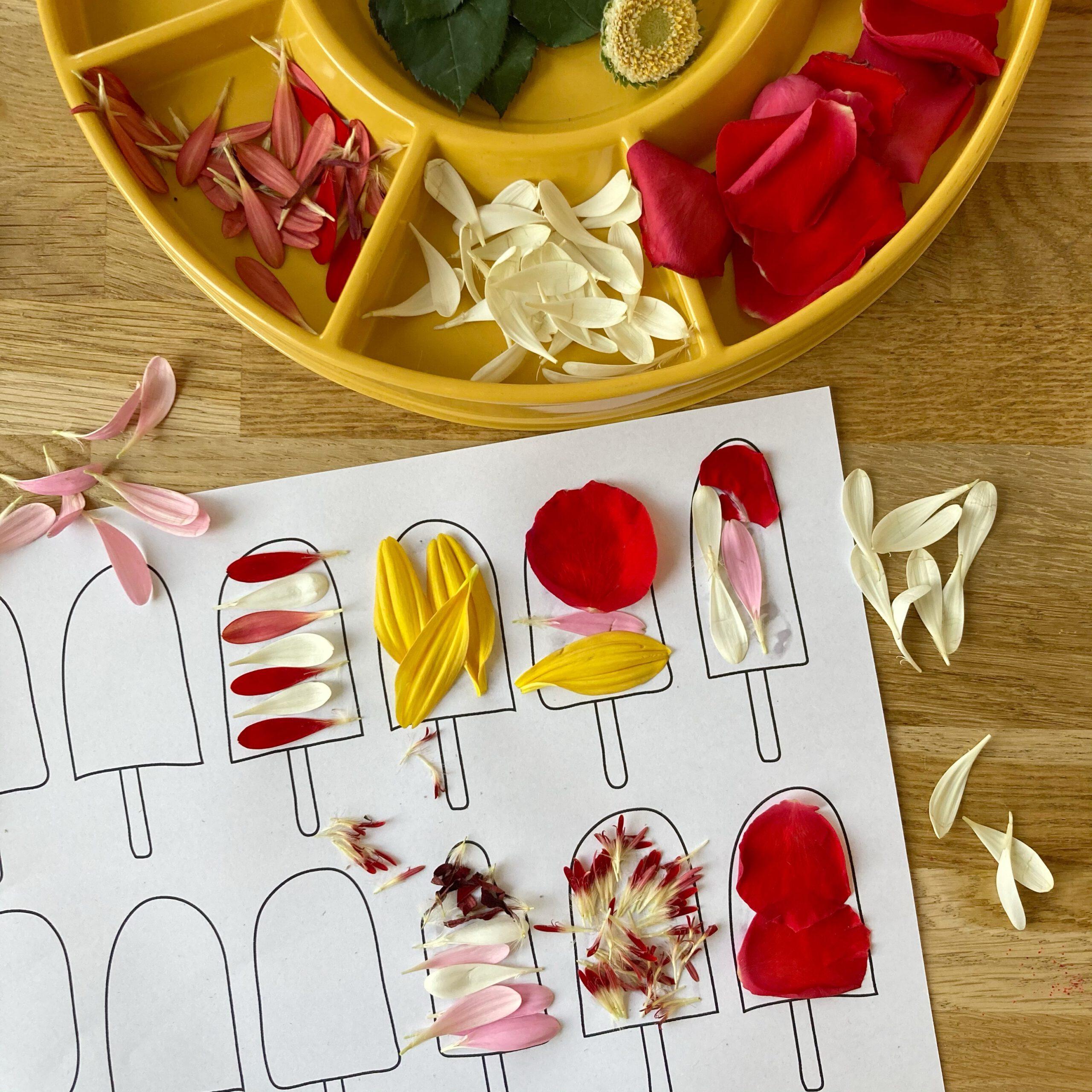 gratis printable ijsjes kleurplaat wildebras
