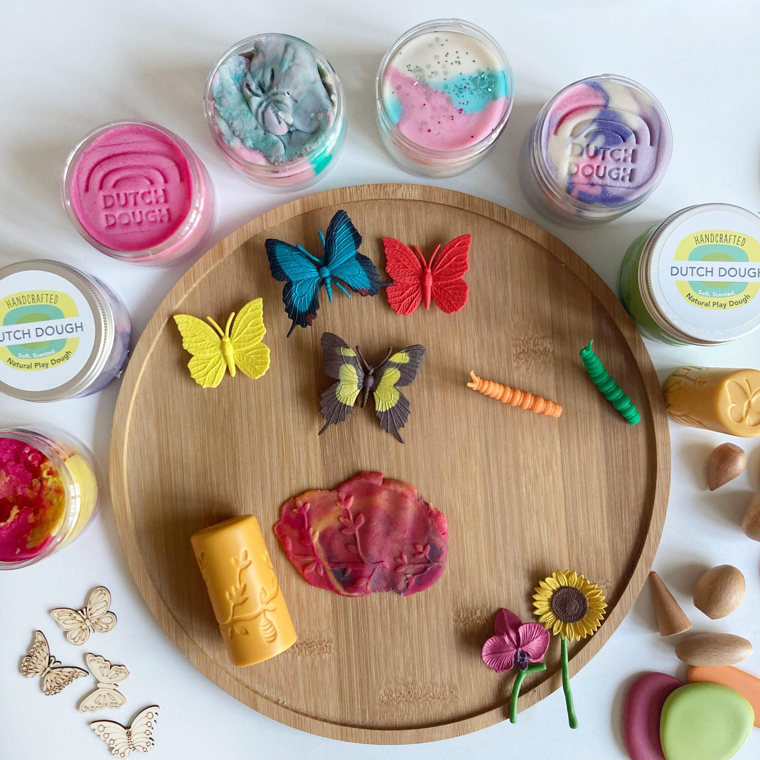 natuurlijke speelklei speeltips met klei