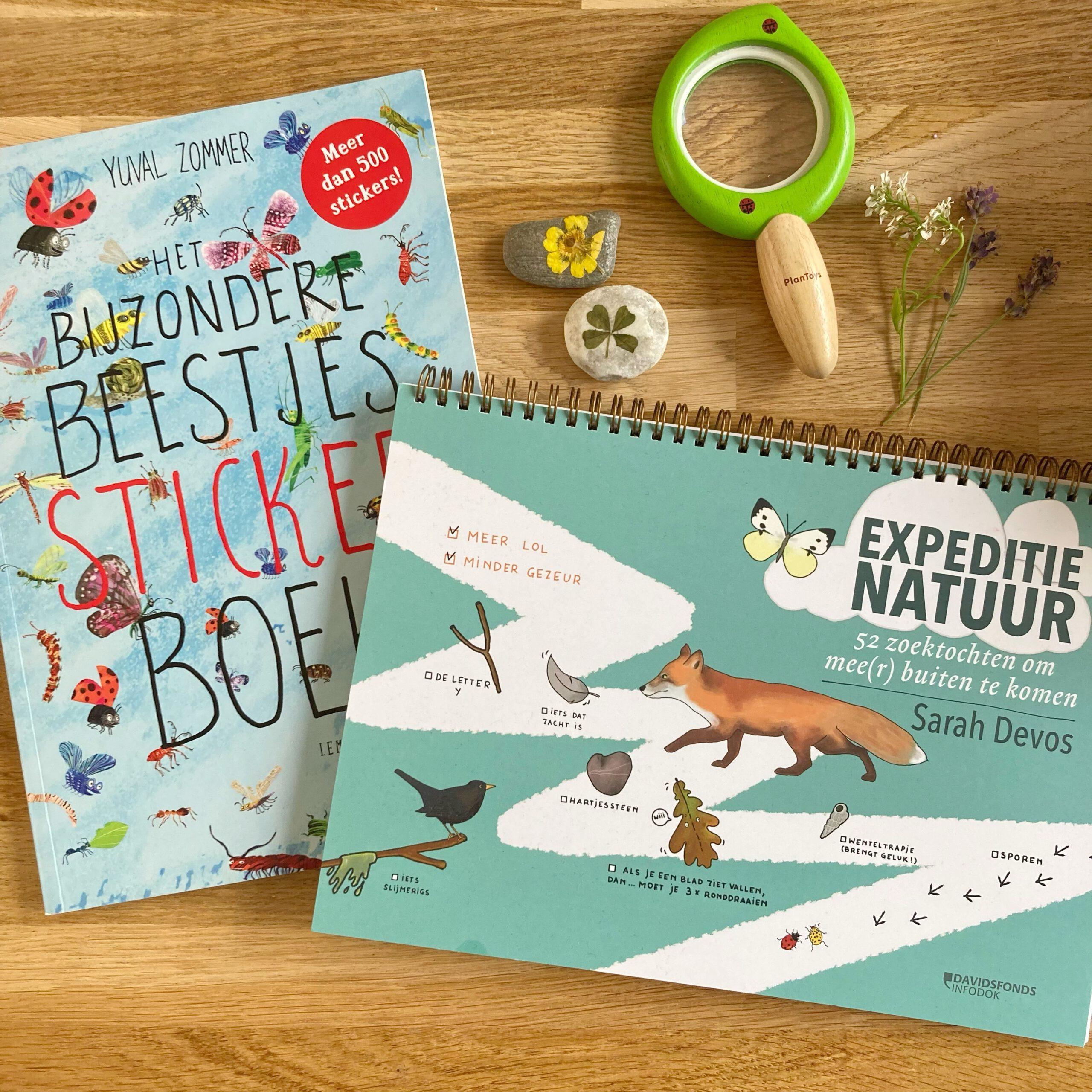 kinderboeken natuur expeditie natuur bijzondere beestjes